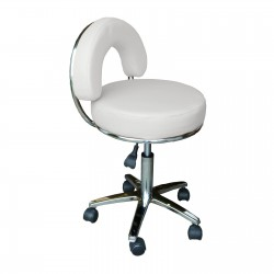 Židle kosmetická JENNY bílá