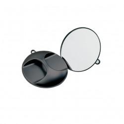 Zrcadlo kulaté černé