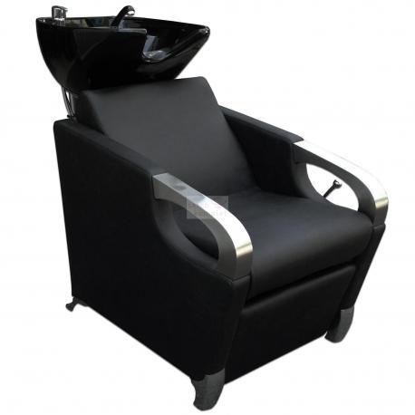 Kadeřnický mycí box CONTE černý