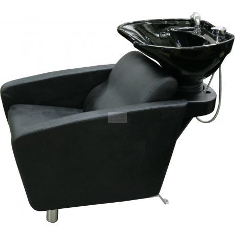 Kadeřnický mycí box Forte černý