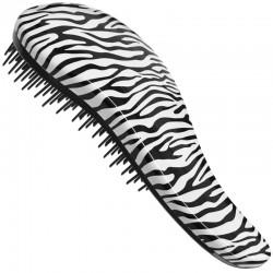 Kartáč rozčesávací detangler zebra s rukojetí