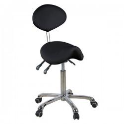 Židle kosmetická SELLA 1025 černá