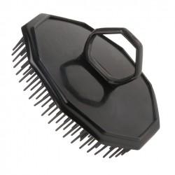 Kartáč na vlasy ježek pánský černý