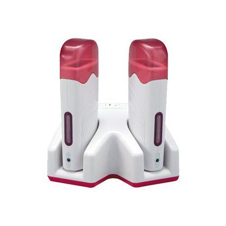 Ohřívač vosků DUO pink