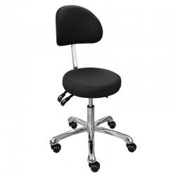 Židle kosmetická RONDA 3F černá