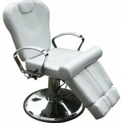 Pedikérské křeslo hydraulické 31207C bílé