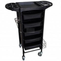 Kadeřnický stolek T-010 černý