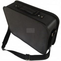 Kadeřnický textilní kufr velký