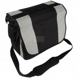 Kadeřnická taška přes rameno černo-šedá