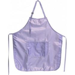 Zástěra střihací lesklý nylon fialová